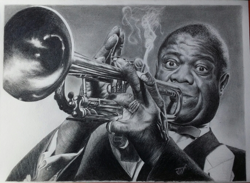 Louis Armstrong by jeffcw